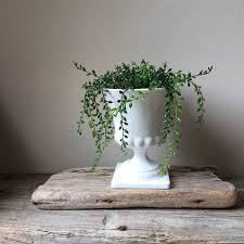 vintage milk glass urn planter white milk glass grecian urn