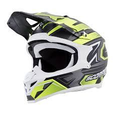 ufo motocross helmet scorpion vx 35 finnex offroad mx helmet silver neon available at