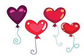 heart shaped balloons heart shaped balloons svg cut file by creative fabrica crafts