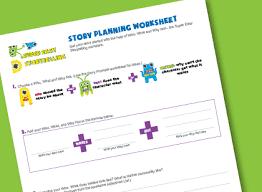 free language arts worksheets super easy storytelling
