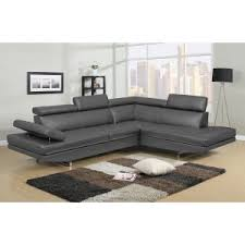Modern Sectional Leather Sofas Contemporary Modern Sectional Sofas Hayneedle