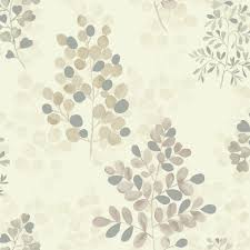 arthouse montana floral leaf pattern metallic vinyl wallpaper 889503
