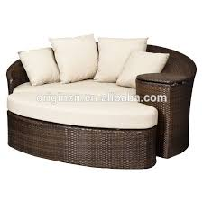 Loveseat Ottoman Patio Loveseat And Ottoman Sectional Round Sun Bed With Cooler
