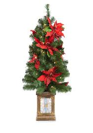 home accents 4 ft poinsettia porch tree belk