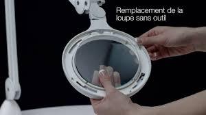 daylight ultra slim magnifying l le loupe omega 5 led daylight youtube