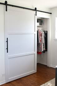 Sliding Barn Doors For Closets How To Build And Install A Sliding Barn Door Home Improvement