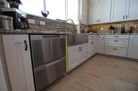 How To Measure For Kitchen Sink by Preparing For A Farm Sink Deerfield Cabinets Com