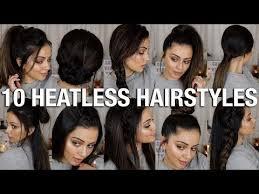 heatless hair styles all women haircut styles