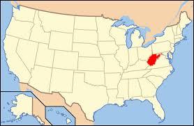 Wv Map Us Map West Virginia Virginia Map