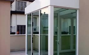vetrate verande carpenteria metallica eurotest verande con vetrate