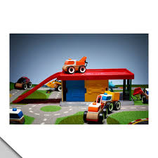 ikea garage amazon com ikea lillabo garage with tow truck toys u0026 games