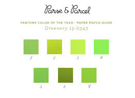 paper match 2017 pantone color of the year greenery parse