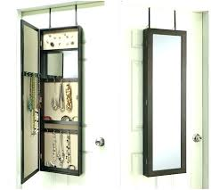 over the door cabinet over the door mirror jewelry armoire jewelry storage door cabinet
