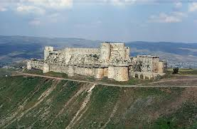 Krak Des Chevaliers by The Crusades 1095 To The Late 1200s By Miles Hodges