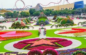 immagini di giardini fioriti il miracle garden di dubai il parco fiorito pi禮 grande mondo