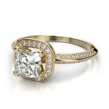 princess cut gold engagement rings yellow gold princess cut engagement rings wonderful diamonds in