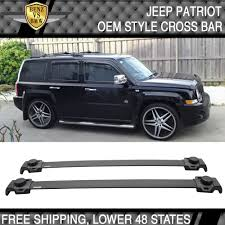 fit for 07 15 jeep patriot oe style roof rack cross bar crossbar
