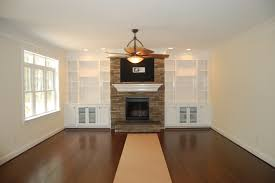 modern fireplace mantel ideas living room built in bookcase