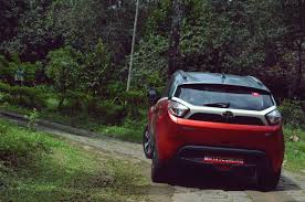 lexus used mumbai tata nexon spotted at an it park in berry red u0026 grey dual tone colour