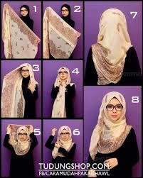 tutorial turban sederhana cara memakai hijab pashmina sederhana terbaru fashion tutorial
