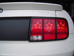mustang led tail lights new led taillight bulbs ford mustang forum