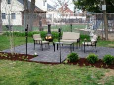 Large Pavers For Patio by Laying Pavers For A Backyard Patio Hgtv