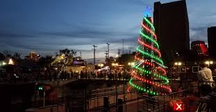 downtown san antonio christmas lights new commercial light show tree design launched on san antonio
