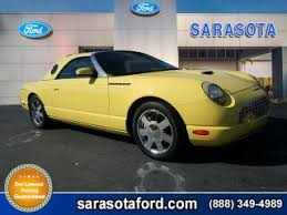 2002 Ford Thunderbird Premium Stock by Used Ford Thunderbird For Sale In Fort Myers Fl 33901 Bestride Com