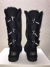 ugg boots for s sporting ugg amelie swarovski black boots us 8 eu 39