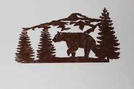 Hunting Home Decor Outdoor Nature Hunting Decor Metal Wall Art U2013 Say It All On The Wall