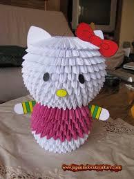 cara membuat origami hello kitty 3d yuk bikin origami 3d hello kitty yang cute bisa jadi souvenir lho