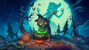 dragon nest halloween town background steam card exchange showcase unnyworld