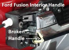 Ford Fusion Interior Door Handle Replacement Diy Ford Fusion Door Handle Replacement Procedure
