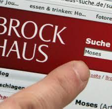 Suche Haus Nachschlagewerke Brockhaus Wehrt Sich Gegen Wikipedia Vergleich