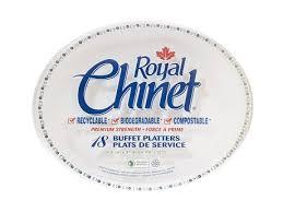 chinet plates royal chinet oval platter walmart canada
