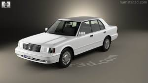 toyota crown 360 view of toyota crown 1991 3d model hum3d store