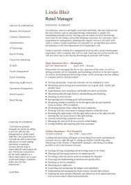 best resumes exles for retail employment retail manager cv template resume exles job description