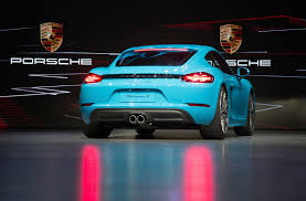how much does a porsche cayman cost porsche puts the boost in 718 cayman revealed by car magazine