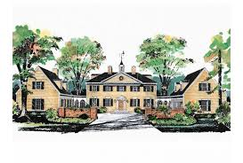 plantation house plans eplans plantation house plan george washington slept here 3450