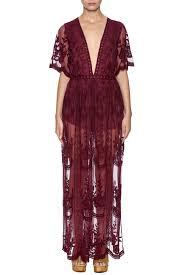 honey clothing honey punch boho lace maxi dress from florida by olde fields