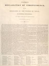 texas declaration of independence 1836 the gilder lehrman