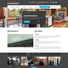 home renovation websites portfolio rubix websites rubix