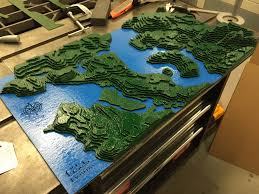 Map Of Seattle Topographic Map Of Seattle U2013 Fremont Laser Design