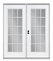 15 light french door exterior doors guadalupe lumber co