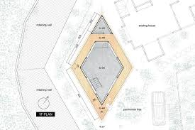 Compact Floor Plans Compact Diamond Shaped House Plan By Yuji Tanabe