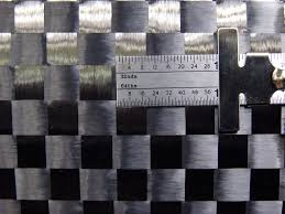 1k Carbon Fiber Cloth Carbon Fiber Fabric 12k Spread Tow Plain Weave 50