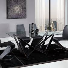 glamorous modern dining room tables rectangular shape wood top