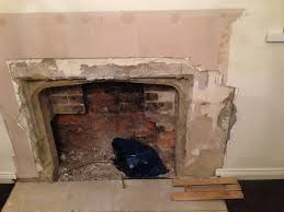 stone how to tidily restore a sandstone fireplace home