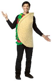 c627 mens mexican taco funny food halloween fancy dress