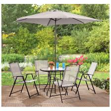 Walmart Patio Tables by Furniture Patio Dining Sets Walmart Mainstay Patio Furniture